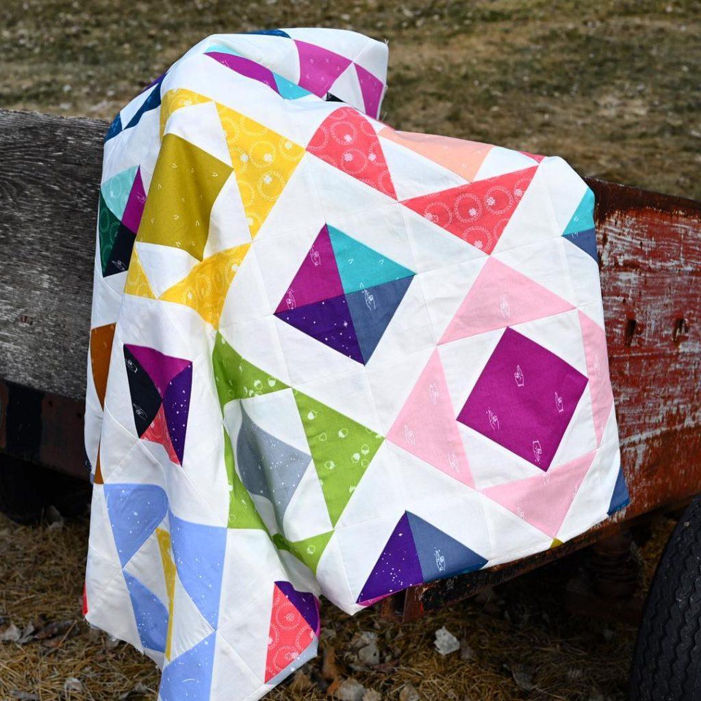 Raw Diamond Quilt