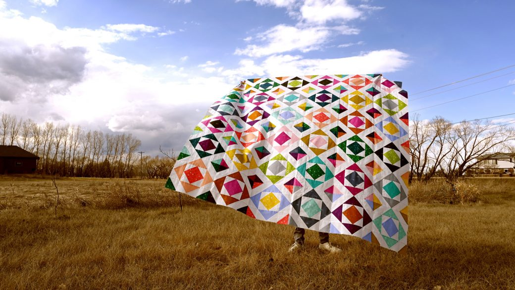 Raw Diamond Quilt