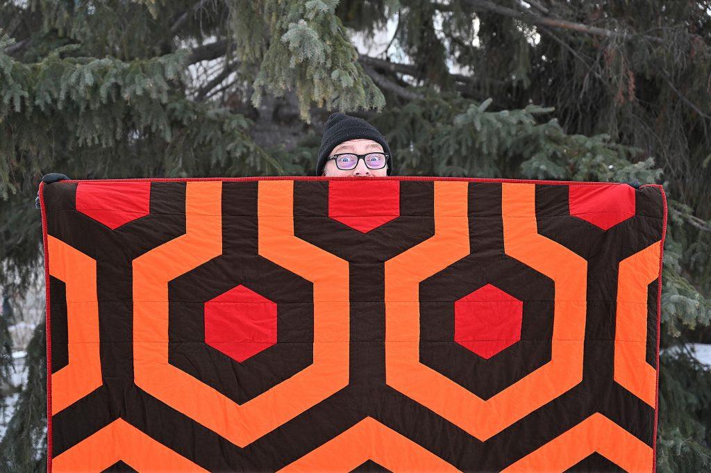 Overlook Hotel Quilt