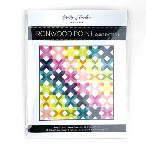 Ironwood Point Quilt Paper Pattern