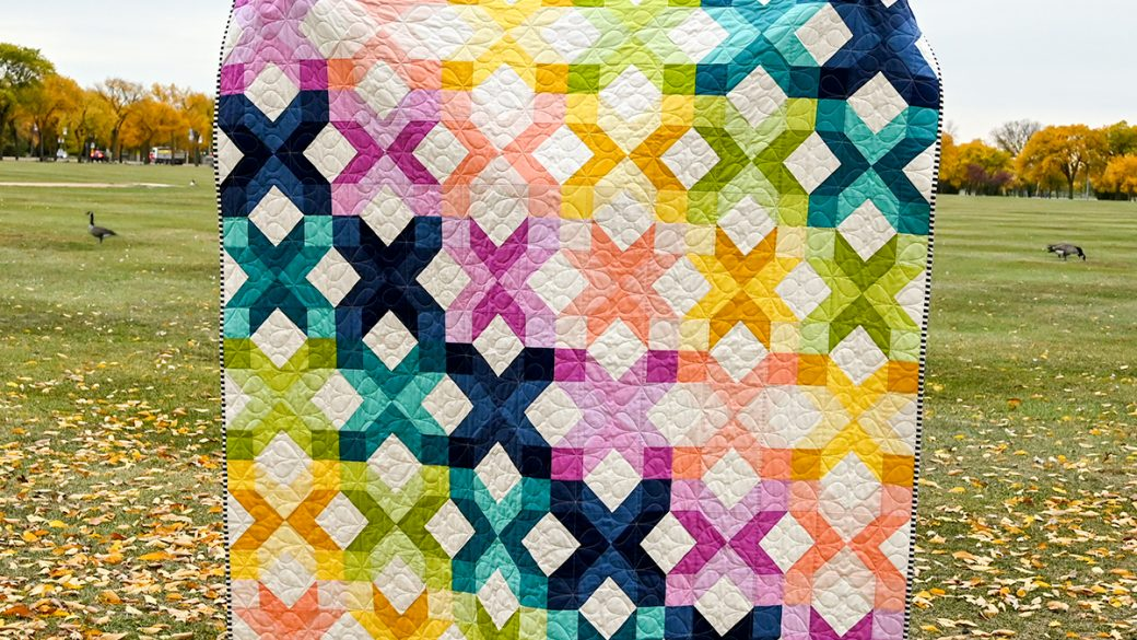 Ironwood Point Quilt Pattern — Paper Version
