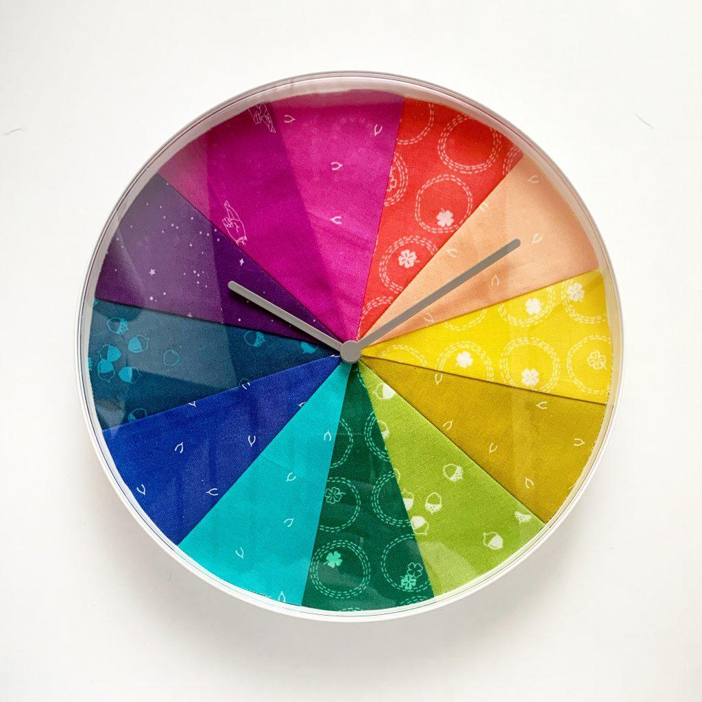 Quilt Clock 1
