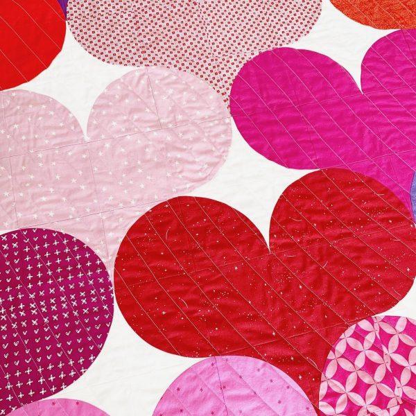 Juicy Hearts Quilt