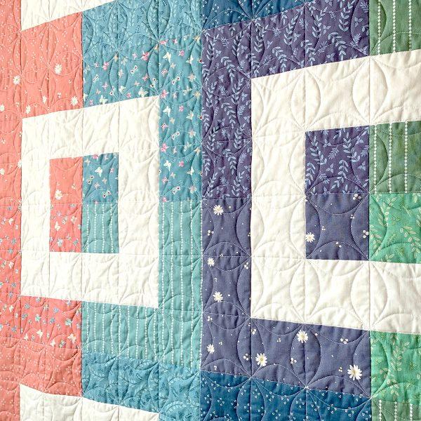 Dialogue Cabin Quilt Pattern